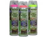 Distein Fluo märkevärv, Roheline, täis kast, 12 purki